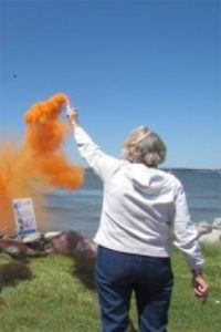 Safety flare demonstration