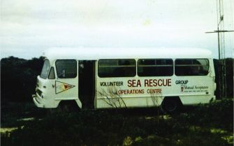 sea rescue bus